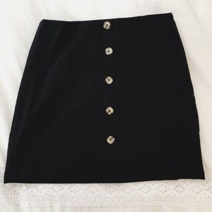 J.O.A NWT Black Mini Skirt